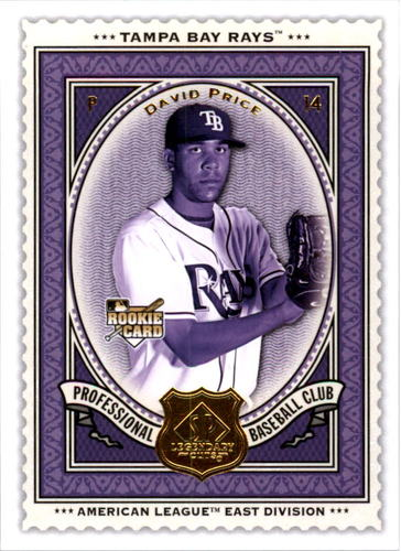 Photo of 2009 SP Legendary Cuts #14 David Price RC