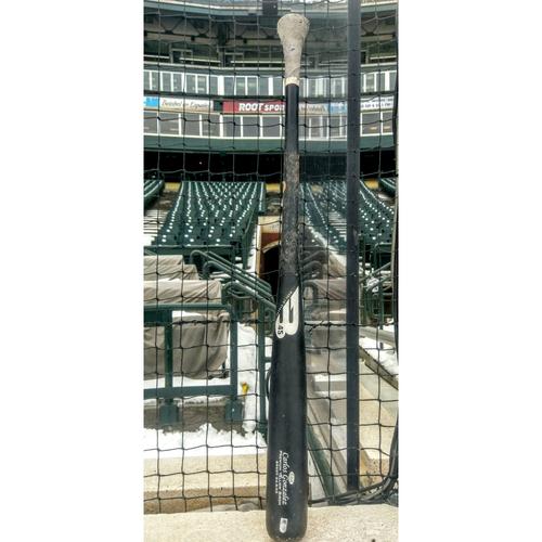 Photo of Colorado Rockies Carlos Gonzalez Game-Used Bat
