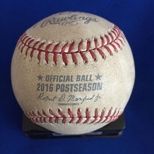 Photo of UMPS CARE AUCTION: 2016 NLDS Crew Signed Baseball (CHI vs. SF)