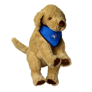 Toronto Blue Jays Plush Bandana Puppy by Forever Collectibles