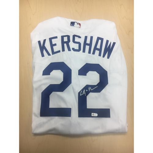 Photo of LA Dodgers Foundation Online Auction: Clayton Kershaw Authentic Autographed Jersey