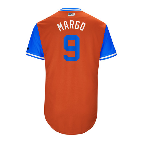 "Photo of Marwin ""Margo"" Gonzalez Houston Astros Game-Used Players Weekend Jersey"