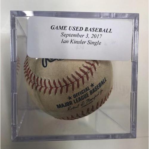 Photo of Game-Used Baseball: Ian Kinsler Single