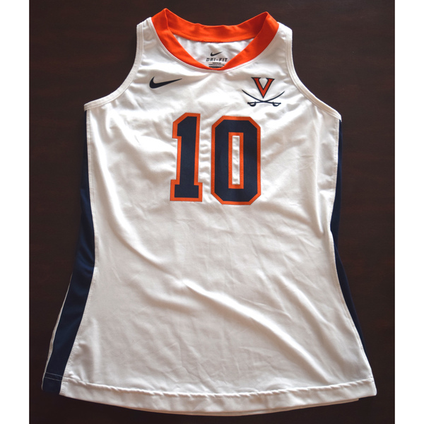 Game-Worn University of Virginia Field Hockey Jersey  White  10 3bb6f3b280b