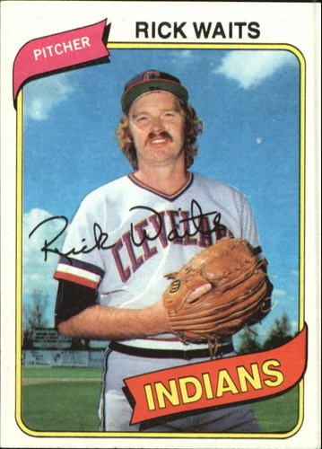 Photo of 1980 Topps #168 Rick Waits