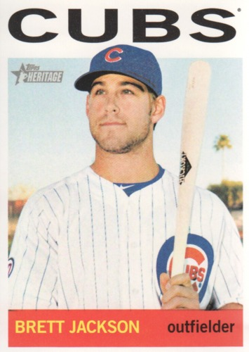 Photo of 2013 Topps Heritage #49 Brett Jackson