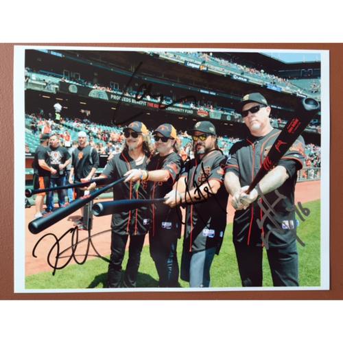 Photo of GCF Auction: Metallica Band Signed Photo