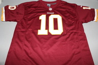 REDSKINS - ROBERT GRIFFIN III NIKE REPLICA JERSEY - SIZE YOUTH XL
