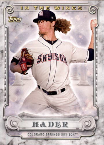 Photo of 2017 Topps Pro Debut In The Wings #ITWJH Josh Hader