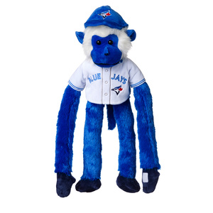 Toronto Blue Jays Plush Jersey Rally Monkey by Forever Collectibles