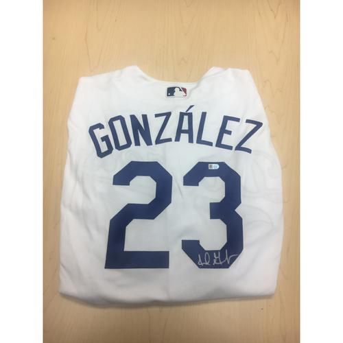 Photo of LA Dodgers Foundation Online Auction: Adrian Gonzalez Authentic Autographed Jersey