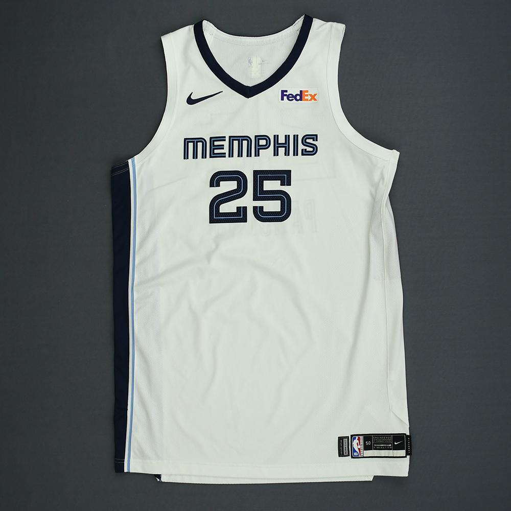 Chandler Parsons - Memphis Grizzlies - Kia NBA Tip-Off 2018 - Game-Worn Association Edition Jersey