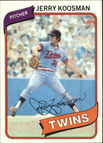 Photo of 1980 Topps #275 Jerry Koosman