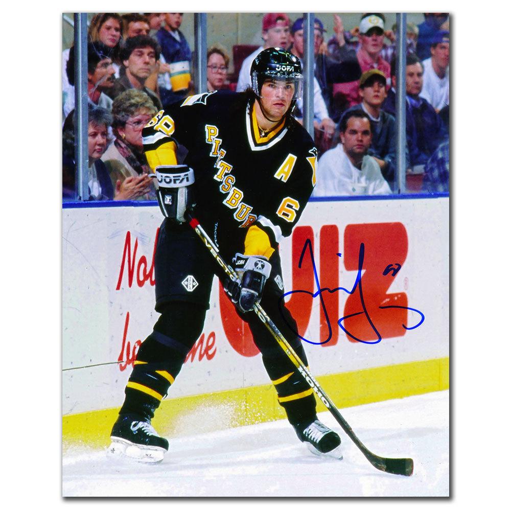 Jaromir Jagr Pittsburgh Penguins PLAYMAKER Autographed 8x10