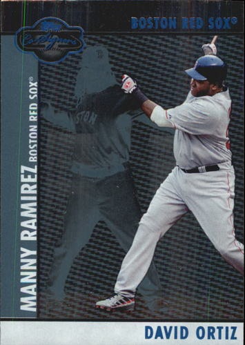 Photo of 2008 Topps Co-Signers Silver Blue #25a David Ortiz