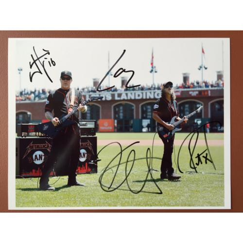 Photo of GCF Auction: Metallica National Anthem Signed Photo