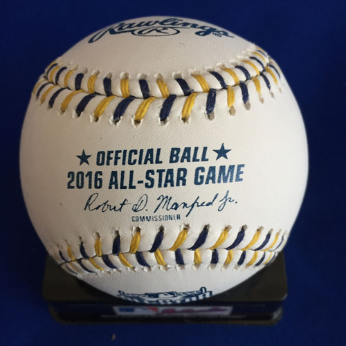 Photo of UMPS CARE AUCTION: 2016 All Star Game Crew Signed Baseball