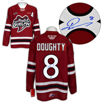 Drew Doughty Guelph Storm Autographed CHL CCM Premier Hockey Jersey