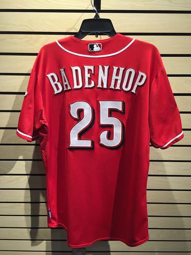 Photo of Burke Badenhop Game-Used Jersey JB098442