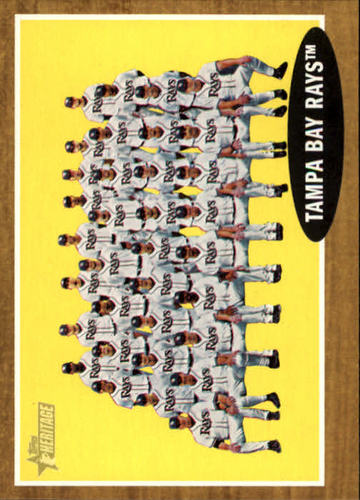 Photo of 2011 Topps Heritage #334 Tampa Bay Rays