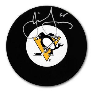 Jaromir Jagr Pittsburgh Penguins Autographed Puck