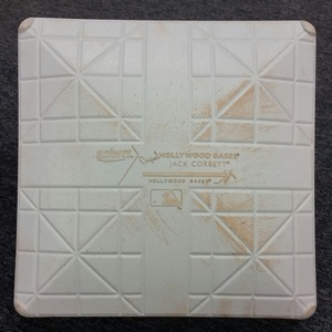 Authenticated Game-Used 1st Base from May 29, 2016 vs Boston Red Sox for Blue Jays 40th Season Celebration Game 1 - used for innings 1-3 and 7-9