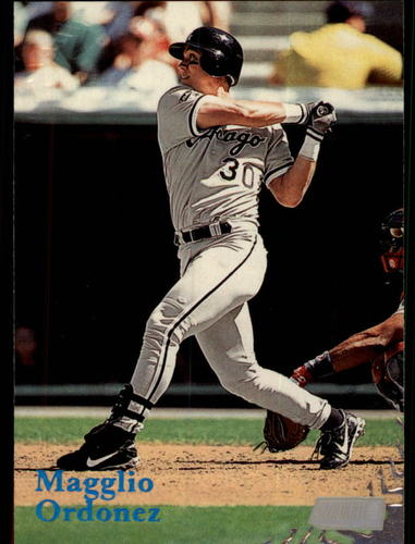 Photo of 1998 Stadium Club #137 Magglio Ordonez RC