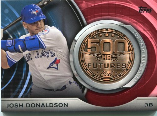 Photo of 2016 Topps Update 500 HR Futures Club Medallions #500M11 Josh Donaldson