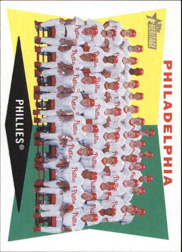 Photo of 2009 Topps Heritage #302 Philadelphia Phillies TC