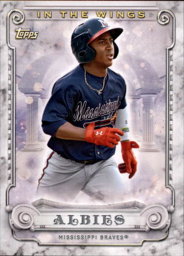 Photo of 2017 Topps Pro Debut In The Wings #ITWOA Ozzie Albies