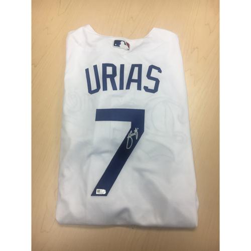 Photo of LA Dodgers Foundation Online Auction: Julio Urias Authentic Autographed Jersey