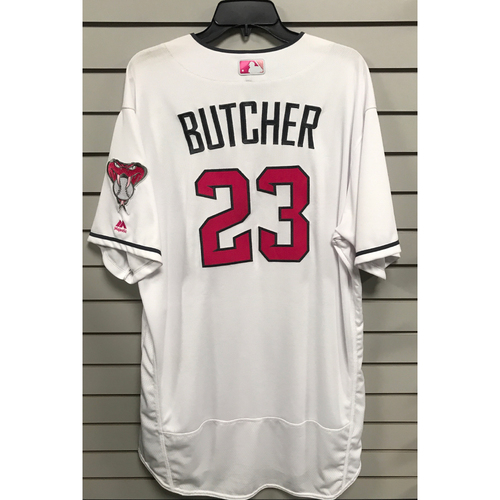 Photo of Mike Butcher Game-Used 2017 Mother's Day Jersey