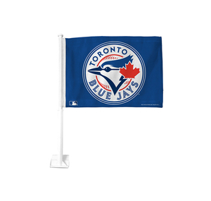Toronto Blue Jays Car Flag by Hunter