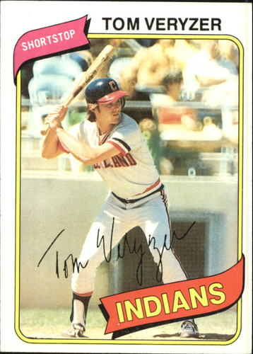 Photo of 1980 Topps #276 Tom Veryzer