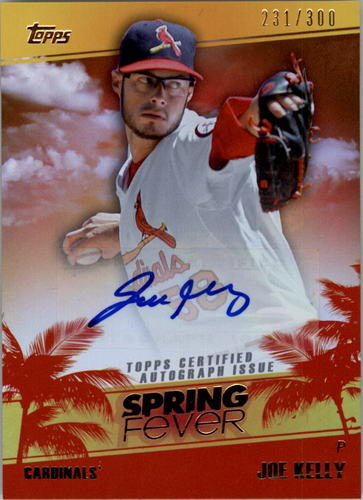 Photo of 2014 Topps Spring Fever Autographs #SFAJK Joe Kelly/300