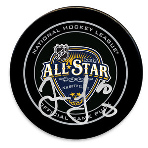 Jaromir Jagr 2016 NHL All-Star Autographed Official Game Puck Florida Panthers