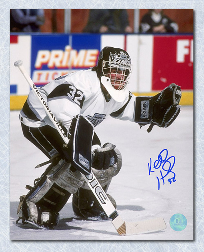 Kelly Hrudey Los Angeles Kings Autographed Goalie 8x10 Photo