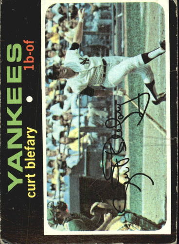 Photo of 1971 Topps #131 Curt Blefary