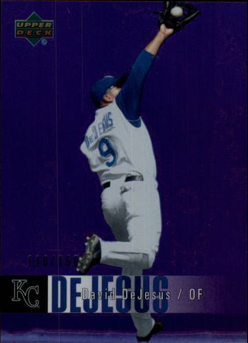 Photo of 2006 Upper Deck Special F/X Purple #222 David DeJesus /150