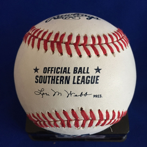 Photo of UMPS CARE AUCTION: DJ Peterson Signed Southern League Baseball
