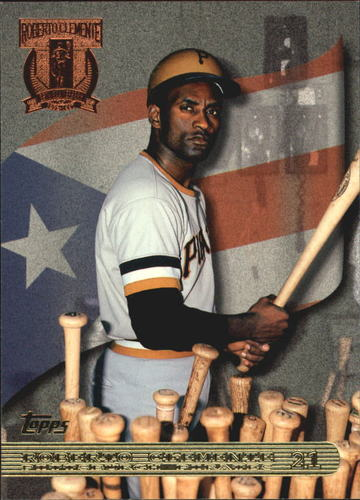 Photo of 1998 Topps Clemente Tribute #RC1 Roberto Clemente/Picking Bat from Rack