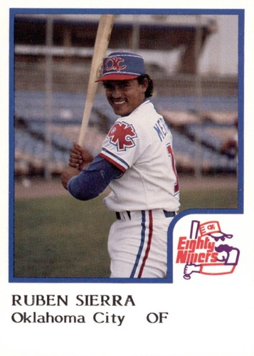 Photo of 1986 Oklahoma City 89ers ProCards #21 Ruben Sierra