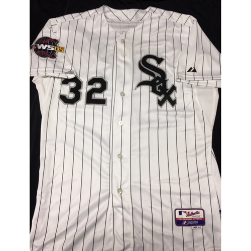 Photo of Dustin Hermanson Autographed Jersey - Size 44