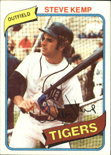 Photo of 1980 Topps #315 Steve Kemp