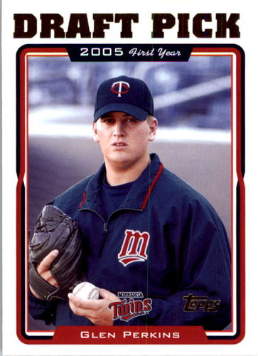 Photo of 2005 Topps #672 Glen Perkins FY RC