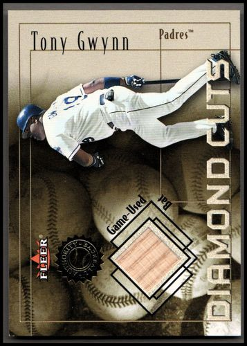 Photo of 2001 Fleer Authority Diamond Cuts Memorabilia #31 Tony Gwynn Bat/975