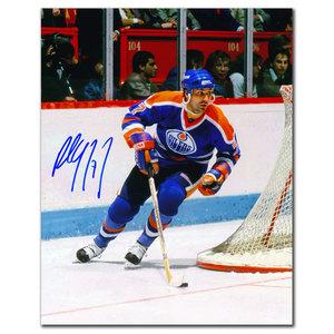 Paul Coffey Edmonton Oilers BREAKOUT Autographed 8x10