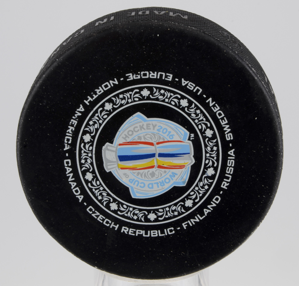 Team Canada vs. Team Czech Republic World Cup of Hockey 2016 Warm-Up Puck From September 17th Game