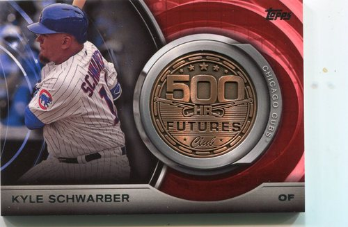 Photo of 2016 Topps Update 500 HR Futures Club Medallions #500M15 Kyle Schwarber