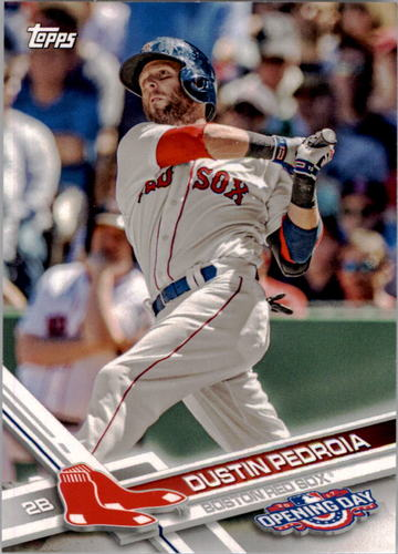 Photo of 2017 Topps Opening Day #112 Dustin Pedroia